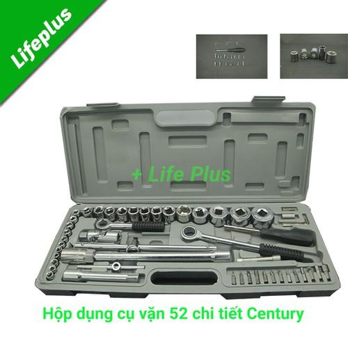 Bộ dụng cụ vặn 52-chi tiết CENTURY-XL203A - 4700531 , 16289176 , 15_16289176 , 399000 , Bo-dung-cu-van-52-chi-tiet-CENTURY-XL203A-15_16289176 , sendo.vn , Bộ dụng cụ vặn 52-chi tiết CENTURY-XL203A