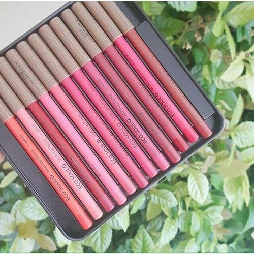 Bộ son chì The Saem Eco Soul Multi Pencil Lip