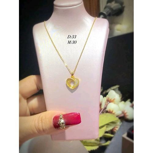 dây chuyền nữ vàng tây 10 kara - 6132408 , 16286117 , 15_16286117 , 1500000 , day-chuyen-nu-vang-tay-10-kara-15_16286117 , sendo.vn , dây chuyền nữ vàng tây 10 kara