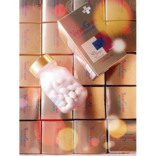 Viên uống trắng da trị nám bổ sung collagen Inner Gram Vita collagen - 6143232 , 16293843 , 15_16293843 , 1150000 , Vien-uong-trang-da-tri-nam-bo-sung-collagen-Inner-Gram-Vita-collagen-15_16293843 , sendo.vn , Viên uống trắng da trị nám bổ sung collagen Inner Gram Vita collagen