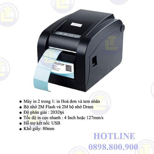 [GIÁ SOCK] Máy in hóa đơn Highprinter HP-400U, khổ in 80mm - 6151898 , 16299968 , 15_16299968 , 2200000 , GIA-SOCK-May-in-hoa-don-Highprinter-HP-400U-kho-in-80mm-15_16299968 , sendo.vn , [GIÁ SOCK] Máy in hóa đơn Highprinter HP-400U, khổ in 80mm