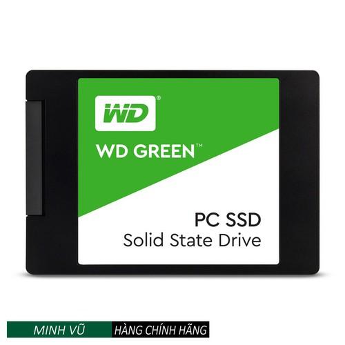 Ổ cứng SSD WD Green 120GB - HÃNG PHÂN PHỐI CHÍNH THỨC