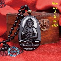 Dây chuyền Phật A Di Đà - Phật bản mệnh tuổi Tuất, Hợi - Vòng Cổ Phật - Chuỗi Hạt Phật