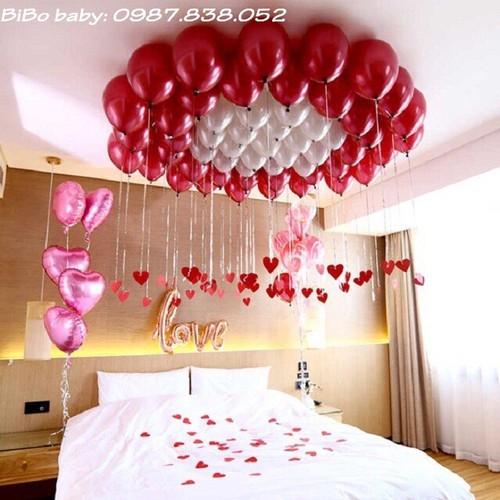 Sét trang trí phòng cưới lãng mạn với bóng nhũ đỏ mận - Bibo baby - 6202704 , 16333710 , 15_16333710 , 150000 , Set-trang-tri-phong-cuoi-lang-man-voi-bong-nhu-do-man-Bibo-baby-15_16333710 , sendo.vn , Sét trang trí phòng cưới lãng mạn với bóng nhũ đỏ mận - Bibo baby