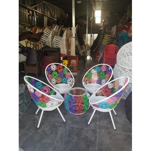 Bàn ghế cà phê bàn ghế ngoài trời xích đu vật dụng trag tri - 4704695 , 16329789 , 15_16329789 , 3650000 , Ban-ghe-ca-phe-ban-ghe-ngoai-troi-xich-du-vat-dung-trag-tri-15_16329789 , sendo.vn , Bàn ghế cà phê bàn ghế ngoài trời xích đu vật dụng trag tri