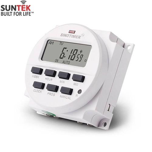 Bộ công tắc hẹn giờ tắt mở thiết bị tự động SUNTEK Sinotimer TM618 -12V - 6173788 , 16313746 , 15_16313746 , 159000 , Bo-cong-tac-hen-gio-tat-mo-thiet-bi-tu-dong-SUNTEK-Sinotimer-TM618-12V-15_16313746 , sendo.vn , Bộ công tắc hẹn giờ tắt mở thiết bị tự động SUNTEK Sinotimer TM618 -12V