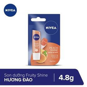 Son Dưỡng Ẩm Hương Đào Nivea 4.8g _ 85031 - 8850029006437