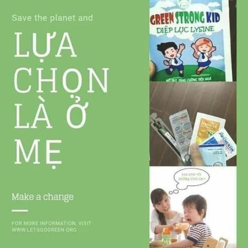 Diệp lục Lysine Green Strong Kid - 6178384 , 16317544 , 15_16317544 , 360000 , Diep-luc-Lysine-Green-Strong-Kid-15_16317544 , sendo.vn , Diệp lục Lysine Green Strong Kid