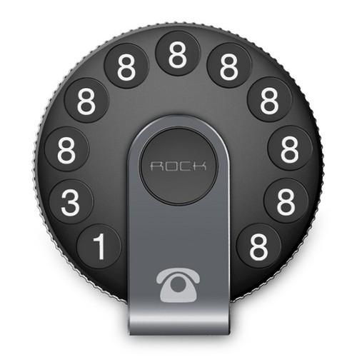Bảng số điện thoại trên ô tô nhãn hiệu Rock RPH084 - Phụ Kiện Ô Tô Chính Hãng