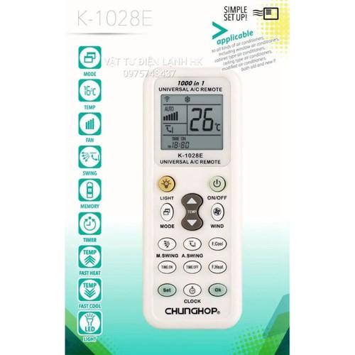 Điều khiển điều hoà đa năng K-1028E CHUNGHOP Remote máy lạnh - 4702553 , 16313957 , 15_16313957 , 59000 , Dieu-khien-dieu-hoa-da-nang-K-1028E-CHUNGHOP-Remote-may-lanh-15_16313957 , sendo.vn , Điều khiển điều hoà đa năng K-1028E CHUNGHOP Remote máy lạnh