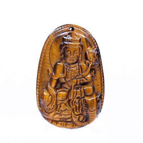 Mặt dây chuyền Phổ Hiền Bồ Tát mắt hổ vàng tự nhiên size lớn - Phật bản mệnh cho người tuổi Thìn, Tỵ - 6170797 , 16312311 , 15_16312311 , 450000 , Mat-day-chuyen-Pho-Hien-Bo-Tat-mat-ho-vang-tu-nhien-size-lon-Phat-ban-menh-cho-nguoi-tuoi-Thin-Ty-15_16312311 , sendo.vn , Mặt dây chuyền Phổ Hiền Bồ Tát mắt hổ vàng tự nhiên size lớn - Phật bản mệnh cho ng