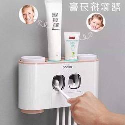 Bộ nhả kem đánh răng tự động ECOCO 4 Hộp cao cấp- Nội Thất Sang Chảnh - BNECO001