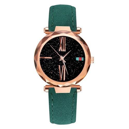 Đồng hồ nữ chính hãng Purung dây da đính đá Saphirebán chạy nhất Hàn Quốc mẫu mới 2019