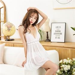 Váy Ngủ Gợi Cảm Kèm Chip Đùi