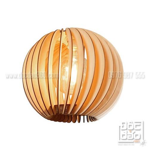 Đèn gỗ thả trần trang trí cao cấp mẫu D360-TT130