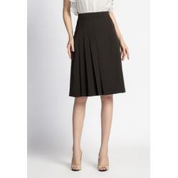 De Leah - Chân Váy A Xếp Li Lệch - Thời trang thiết kế