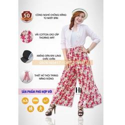 Váy Chống Nắng Dạng Quần Thời Trang Cực Hot