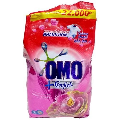 Bột giặt OMO comfort tinh dầu thơm ngây ngất  2.7kg