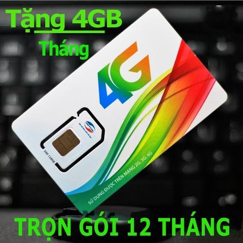Sim 4G Viettel trọn gói 1 năm D500 lướt web tẹt ga