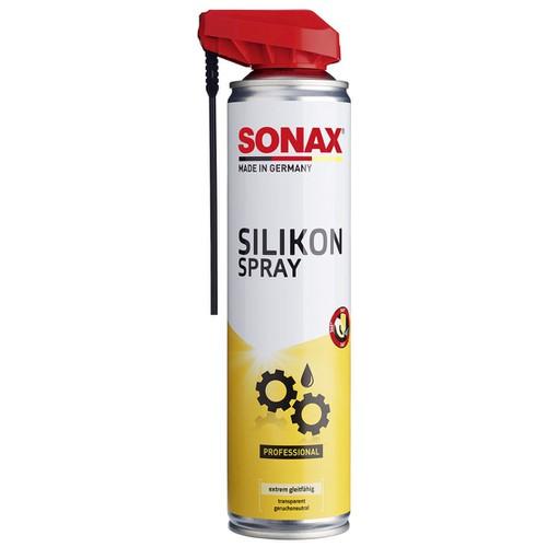 Chai Xịt Silicone Bôi Trơn Bảo Dưỡng Kim Loại Sonax Slllcone Spray With Easyspray 400ml