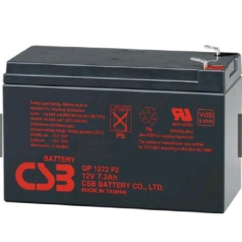 Ắc quy kín khí CSB 12V 7.2Ah dùng cho UPS, tích điện, bộ lưu điện GP1272 28W