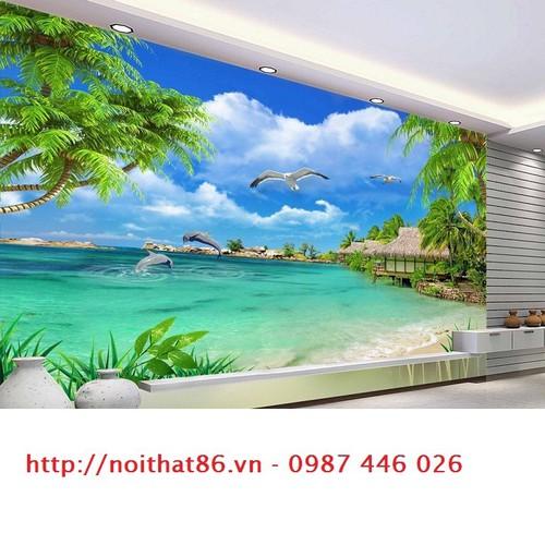 Tranh bãi biển 3d- Gạch tranh ốp tường - 6212896 , 16341020 , 15_16341020 , 1200000 , Tranh-bai-bien-3d-Gach-tranh-op-tuong-15_16341020 , sendo.vn , Tranh bãi biển 3d- Gạch tranh ốp tường