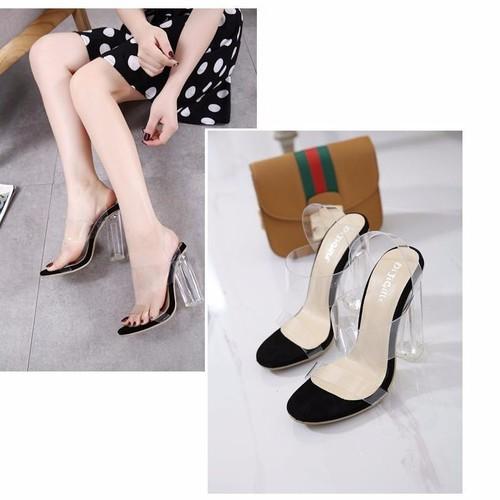 Giày sandal cao gót trong suốt - Giày Sandal Cao Gót Nữ Quai Ngang Gót Vuông Trong Suốt 7cm - 6209490 , 16338608 , 15_16338608 , 240000 , Giay-sandal-cao-got-trong-suot-Giay-Sandal-Cao-Got-Nu-Quai-Ngang-Got-Vuong-Trong-Suot-7cm-15_16338608 , sendo.vn , Giày sandal cao gót trong suốt - Giày Sandal Cao Gót Nữ Quai Ngang Gót Vuông Trong Suốt 7c