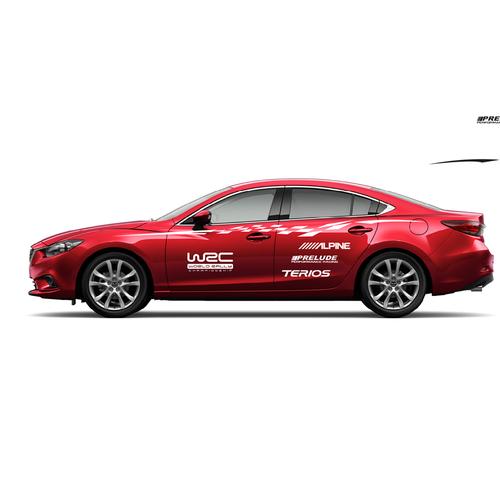 Tem Dán Sườn Xe Mazda 6 - 6221077 , 16346895 , 15_16346895 , 350000 , Tem-Dan-Suon-Xe-Mazda-6-15_16346895 , sendo.vn , Tem Dán Sườn Xe Mazda 6