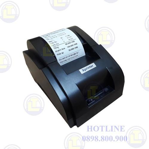 [GIÁ SOCK] Máy in bill Xprinter XP-58IIH khổ 58mm - 6221985 , 16347480 , 15_16347480 , 790000 , GIA-SOCK-May-in-bill-Xprinter-XP-58IIH-kho-58mm-15_16347480 , sendo.vn , [GIÁ SOCK] Máy in bill Xprinter XP-58IIH khổ 58mm
