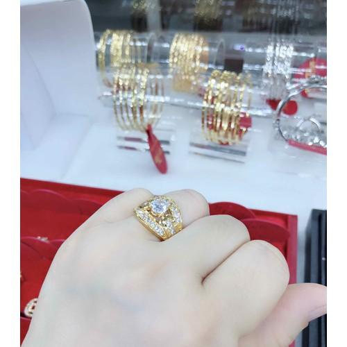 Nhẫn Nữ Cao Cấp Màu Vàng  Cực Đẹp - 6216293 , 16343877 , 15_16343877 , 169000 , Nhan-Nu-Cao-Cap-Mau-Vang-Cuc-Dep-15_16343877 , sendo.vn , Nhẫn Nữ Cao Cấp Màu Vàng  Cực Đẹp