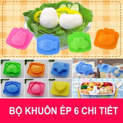 Set 6 khuôn cơm bento - Khuôn làm bánh nướng kiểu dáng hoạt hình - Khuôn ép cơm cho bé - 4706258 , 16343114 , 15_16343114 , 100000 , Set-6-khuon-com-bento-Khuon-lam-banh-nuong-kieu-dang-hoat-hinh-Khuon-ep-com-cho-be-15_16343114 , sendo.vn , Set 6 khuôn cơm bento - Khuôn làm bánh nướng kiểu dáng hoạt hình - Khuôn ép cơm cho bé