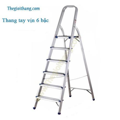 Thang nhôm tay vịn Nikita 6 bậc NKT-AL06