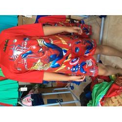 Đồ Bơi Bé Trai Size 8-38 Ký 2 Màu Xanh Và Đỏ Cho Bé