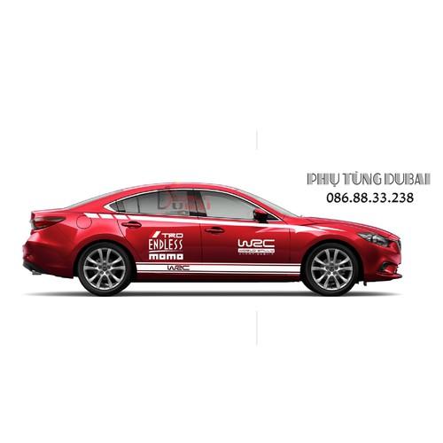 Tem Dán Sườn Xe Mazda 6 - 6221096 , 16346919 , 15_16346919 , 350000 , Tem-Dan-Suon-Xe-Mazda-6-15_16346919 , sendo.vn , Tem Dán Sườn Xe Mazda 6