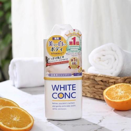 Sữa Tắm Trắng Da White Conc Nhật 360ml