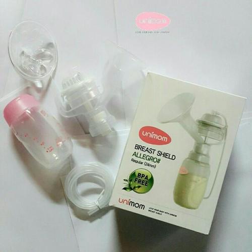 Bộ phụ kiện hút sữa unimom szM có massage