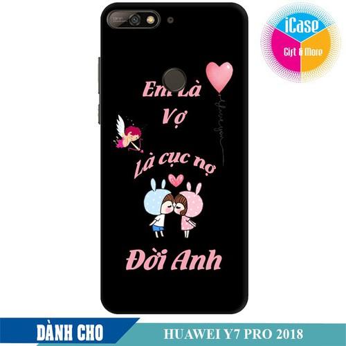 Ốp lưng nhựa cứng nhám dành cho Huawei Y7 Pro 2018 in hình Em là vợ là cục nợ đời anh - 6212075 , 16340440 , 15_16340440 , 99000 , Op-lung-nhua-cung-nham-danh-cho-Huawei-Y7-Pro-2018-in-hinh-Em-la-vo-la-cuc-no-doi-anh-15_16340440 , sendo.vn , Ốp lưng nhựa cứng nhám dành cho Huawei Y7 Pro 2018 in hình Em là vợ là cục nợ đời anh