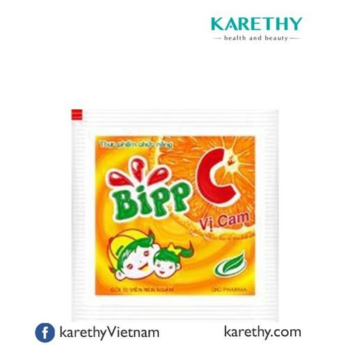Bipp C: Bổ Sung Vitamin C 40Gói x 10viên
