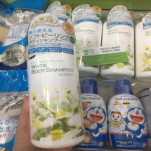 Sữa Tắm Trắng Da White Body Shampoo Manis 450ml Japan - 6214597 , 16342240 , 15_16342240 , 400000 , Sua-Tam-Trang-Da-White-Body-Shampoo-Manis-450ml-Japan-15_16342240 , sendo.vn , Sữa Tắm Trắng Da White Body Shampoo Manis 450ml Japan
