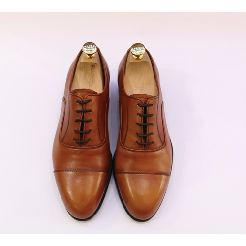 Giày tây nam da bò ý nhập cao cấp siêu mềm màu bò