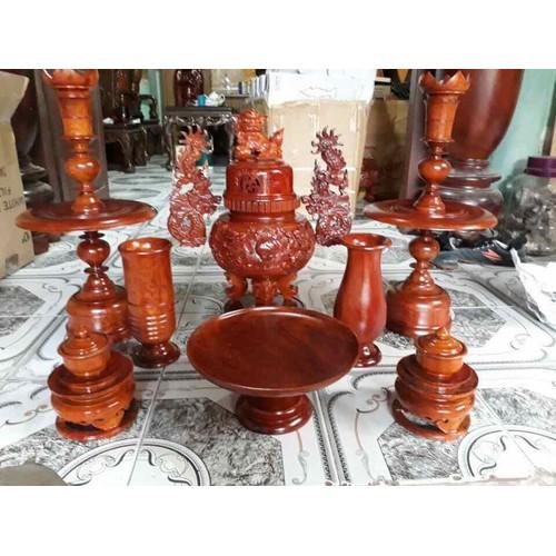 bộ đồ thờ bằng gỗ hương 9 món - 7889630 , 16060426 , 15_16060426 , 3999000 , bo-do-tho-bang-go-huong-9-mon-15_16060426 , sendo.vn , bộ đồ thờ bằng gỗ hương 9 món