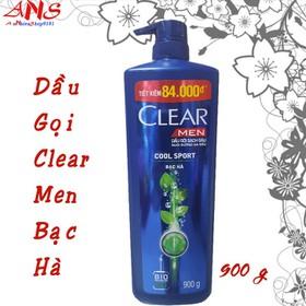 Dầu Gọi - clear men bac ha 900g