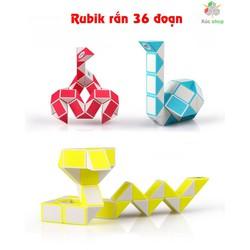 Rubik rắn - Magic Snake - 36 đoạn - Vui lòng chọn màu