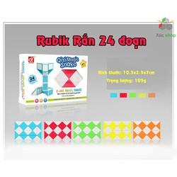 Rubik rắn - Magic Snake - 24 đoạn - Vui lòng chọn màu