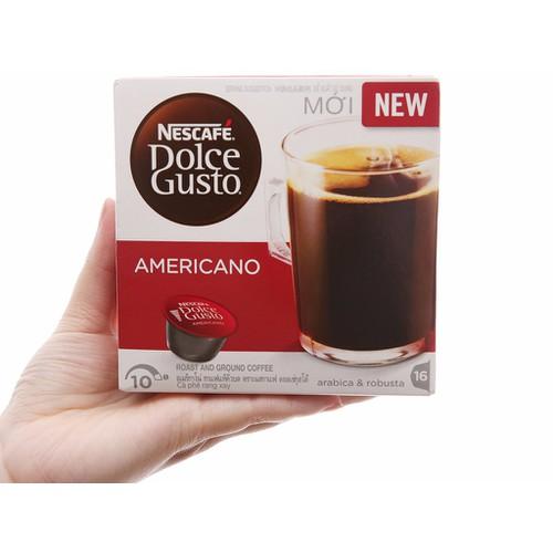 Cà phê viên nén Nescafe Dolce Gusto americano 128g - 16 viên