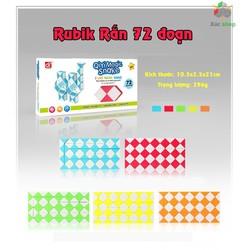 Rubik rắn - Magic Snake - 72 đoạn - Vui lòng chọn màu