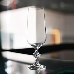 Bộ 6 ly thủy tinh pha lê cường lực uống champage 180 ml Tiệp Khắc