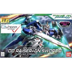 Gundam Bandai Hg 00 Raiser Gn Sword 3 1/144 Hg00 00 Mô Hình Đồ Chơi Lắp Ráp Anime Nhật