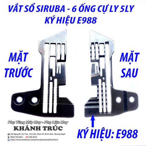 E988 Mặt nguyệt máy Vắt sổ Siruba 6 ống chỉ CỰ LY 5LY máy may công nghiệp - 7901050 , 16063410 , 15_16063410 , 114000 , E988-Mat-nguyet-may-Vat-so-Siruba-6-ong-chi-CU-LY-5LY-may-may-cong-nghiep-15_16063410 , sendo.vn , E988 Mặt nguyệt máy Vắt sổ Siruba 6 ống chỉ CỰ LY 5LY máy may công nghiệp