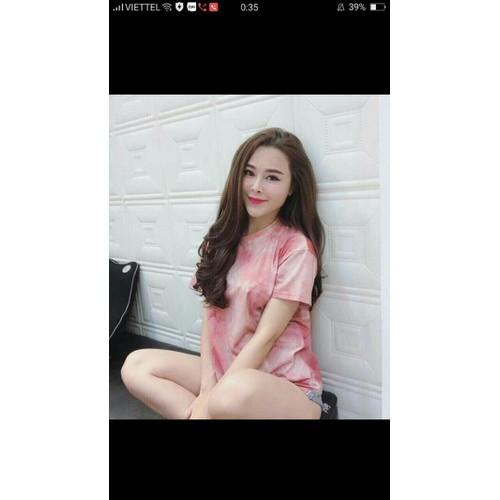 Áo thun nữ pink
